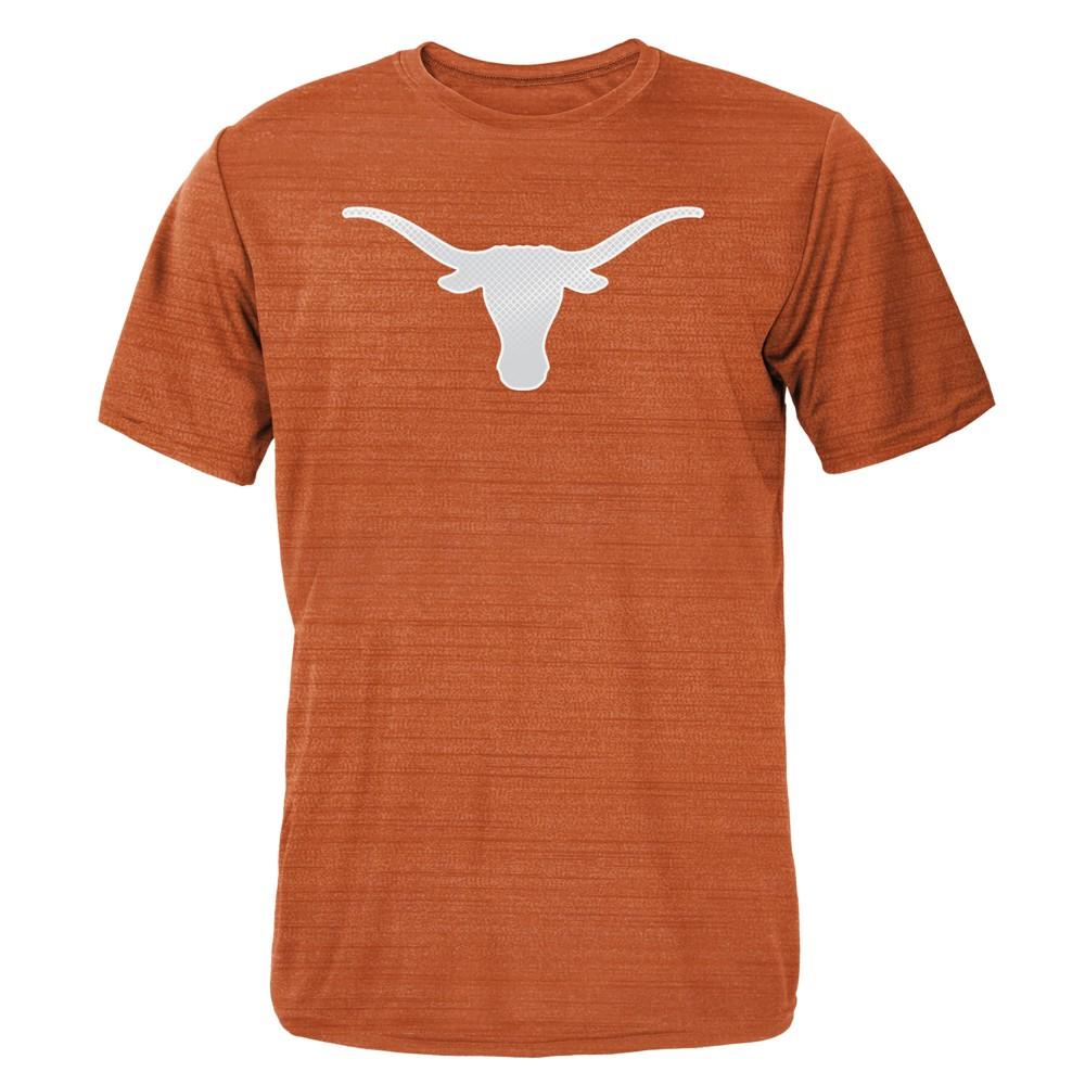 Texas Longhorns Boys' Metal Space Dye Poly Performance T-Shirt L, Orange