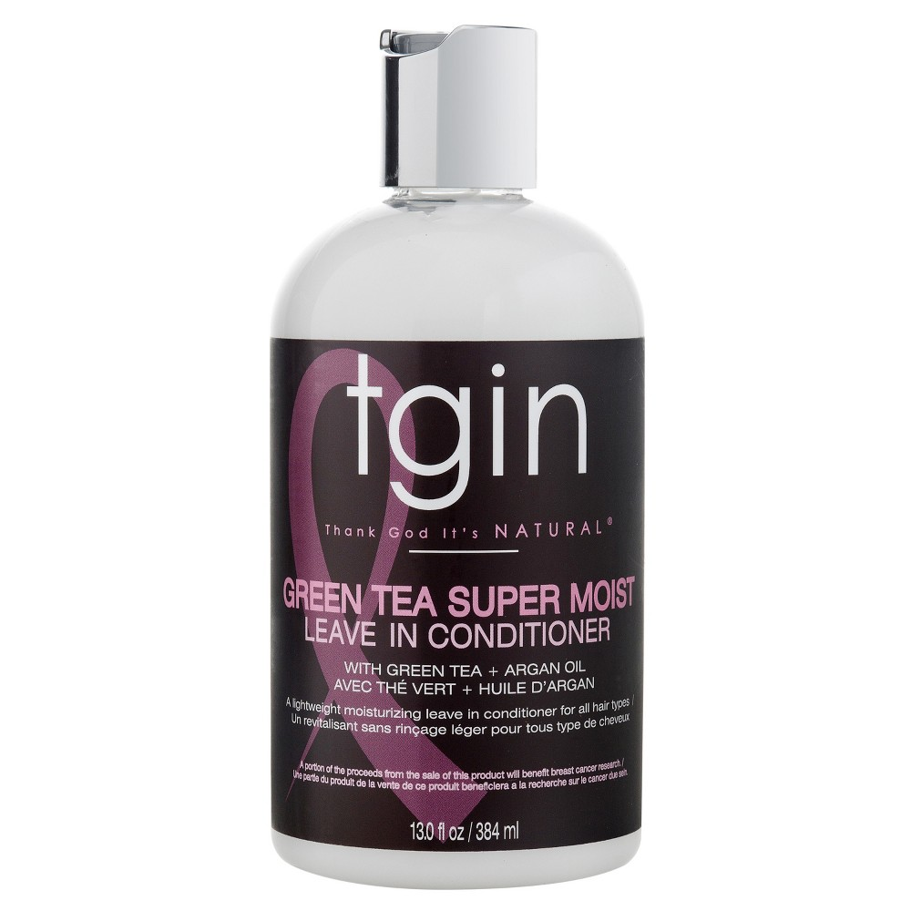 Image of TGIN Green Tea Super Moist Leave In Conditioner With Green Tea and Argan Oil - 13 fl oz