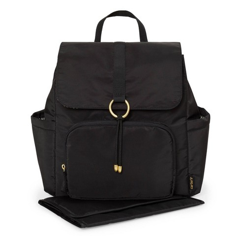 Carter's Go Everywhere Diaper Bag Backpack - Black - image 1 of 2