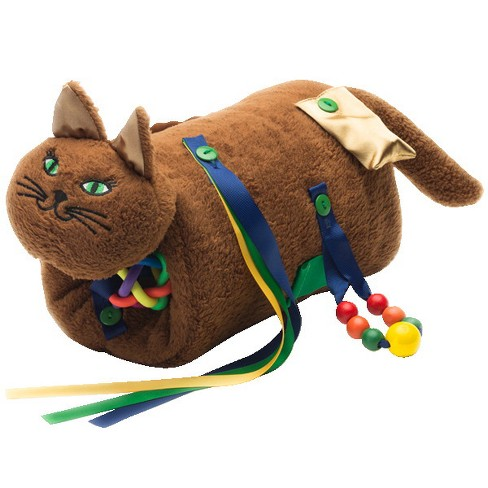 TwiddleCat Fidget and Comfort Muff, Chocolate Brown - image 1 of 1