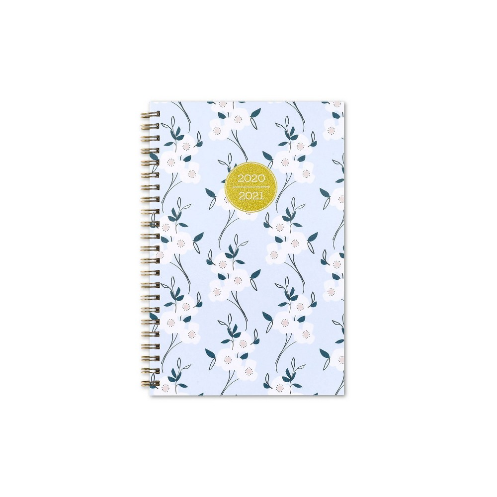 """Image of """"2020-2021 Academic Planner 5""""""""x8"""""""" Frosted Weekly/Monthly Wirebound Primrose - Snow & Graham"""""""