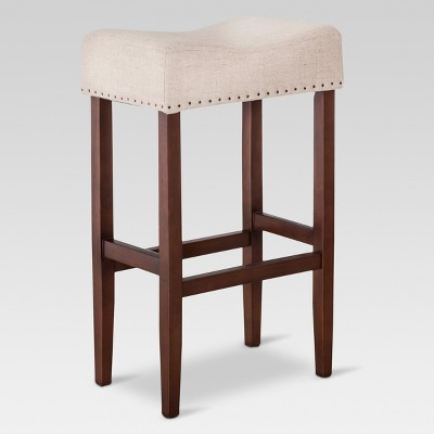 Rumford Saddle 29  Barstool - Oatmeal Linen - Threshold™