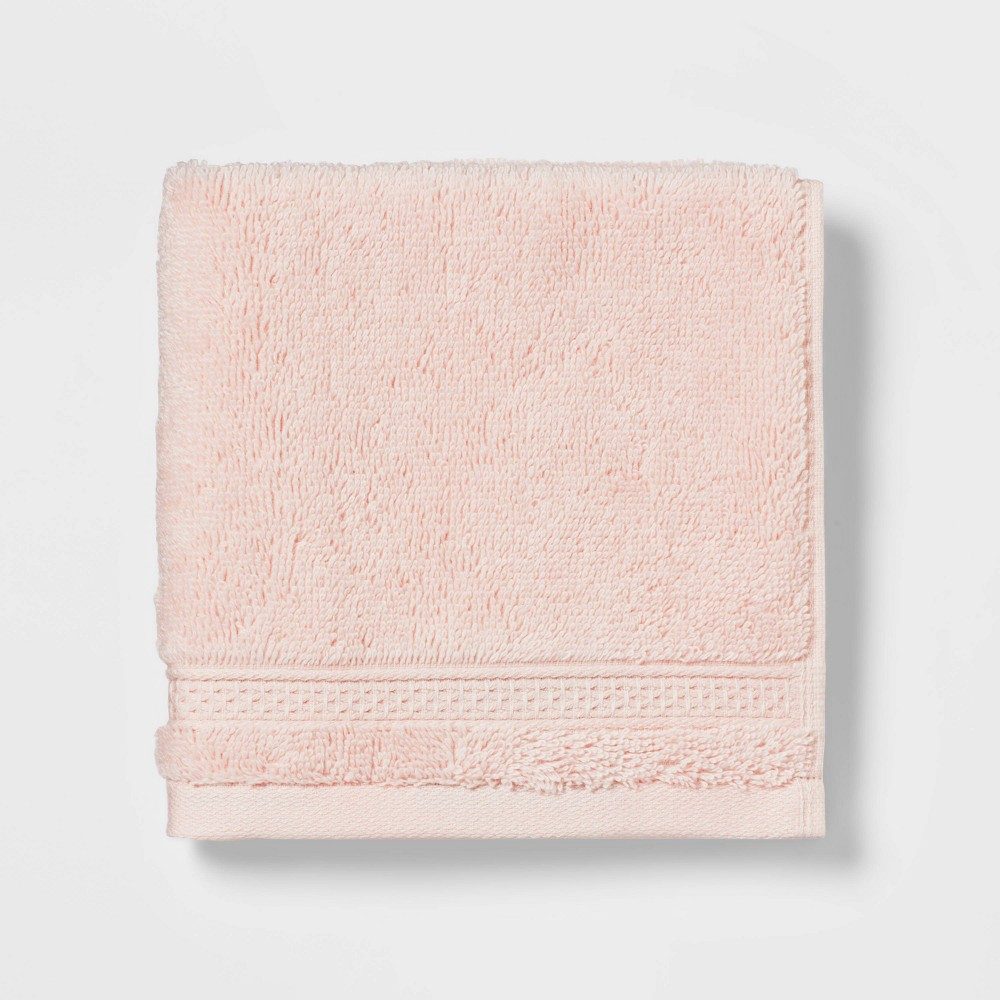 Perfectly Soft Solid Washcloth Peach Opalhouse 8482