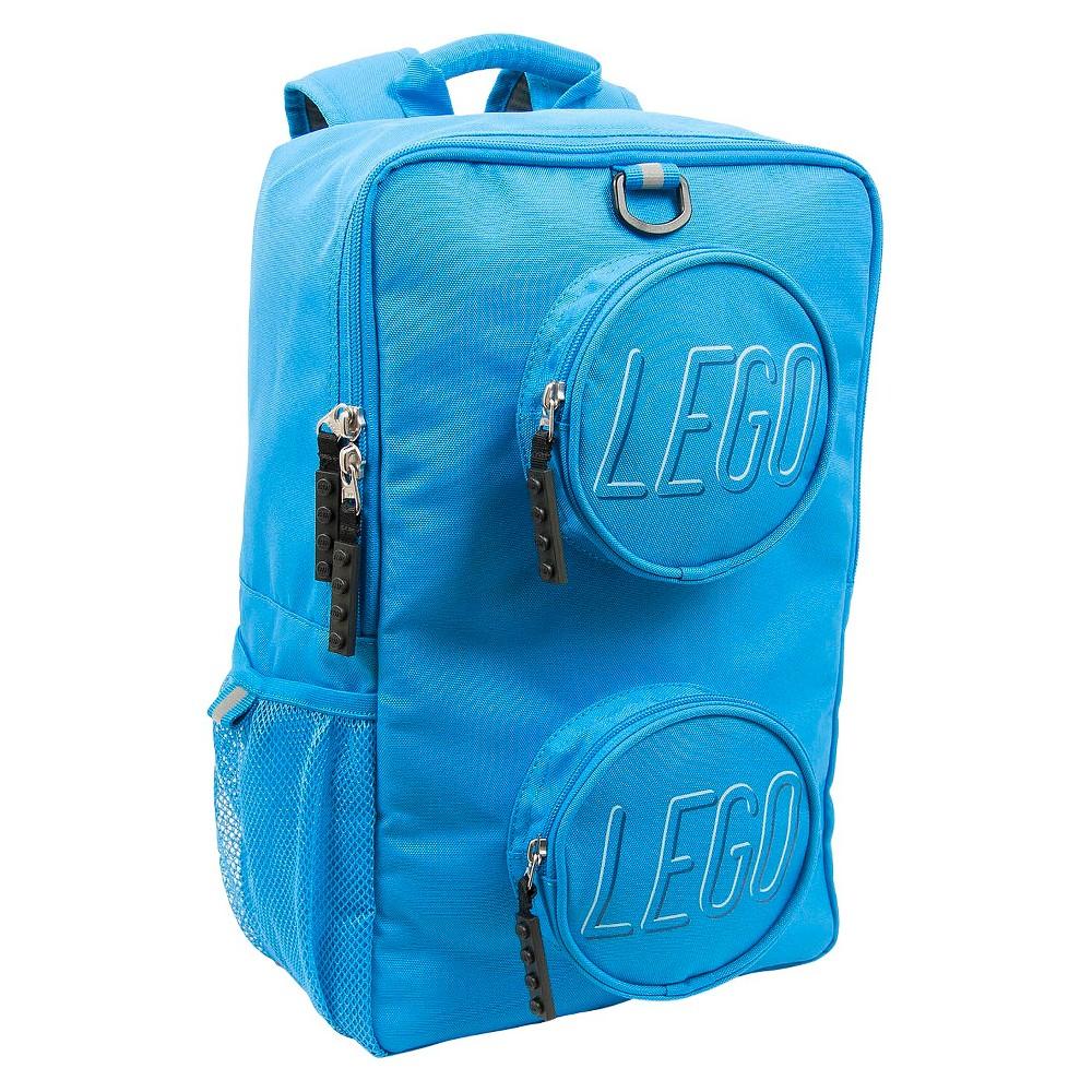 "Image of ""LEGO Brick 16"""" Kids' Backpack - Blue"""