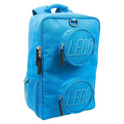 "LEGO Brick 16"" Kids' Backpack - Blue - image 1 of 4"