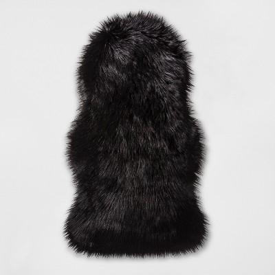 Faux Fur Pelt Black - Project 62™