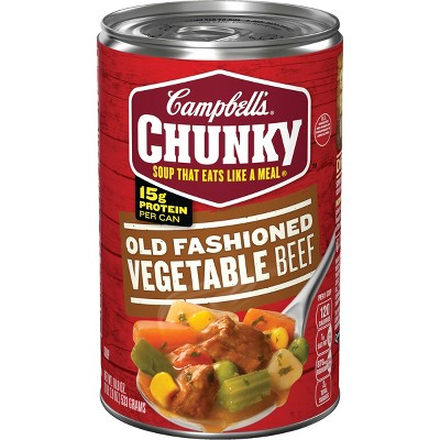 Soup: Campbell's  Chunky Soup