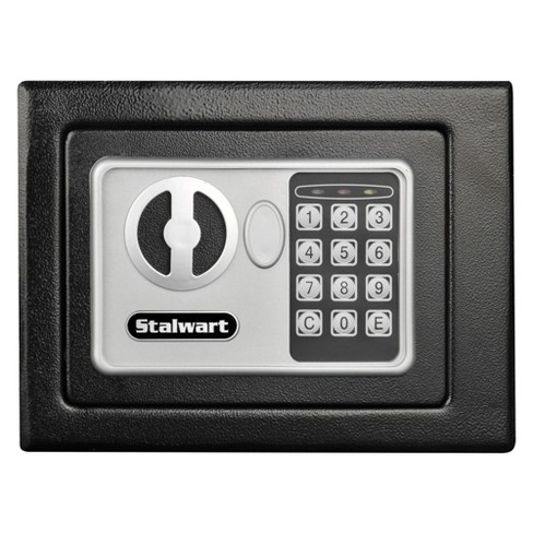 Stalwart Electronic Deluxe Digital Steel Safe Black - image 1 of 4