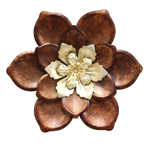 Whimsical Flower Wall Decor - Stratton Home Decor - image 1 of 2
