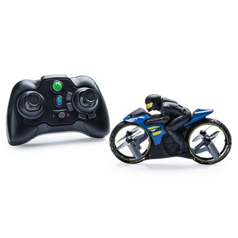 Air Hogs Flight Rider 2-in-1 Remote Control Stunt Motorcycle for Ground and Air - image 1 of 4