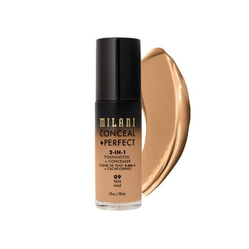Milani Conceal + Perfect 2-in-1 Foundation + Concealer Cruelty-Free Liquid Foundation - 1 fl oz - image 1 of 4