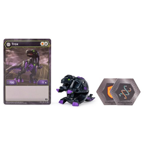 """Bakugan Darkus Trox 2"""" Collectible Action Figure and Trading Card - image 1 of 4"""
