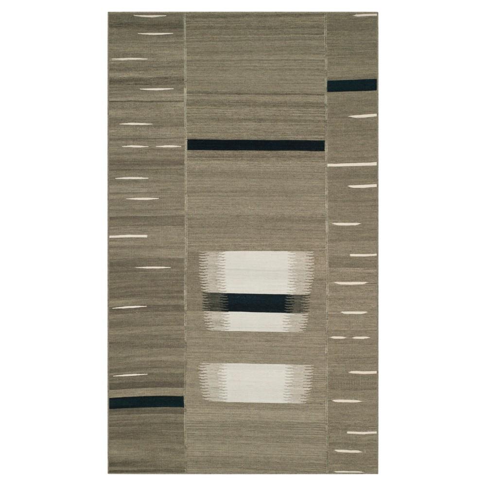 Kilim Rug - Beige - (5'x8') - Safavieh