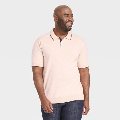 Men's Regular Fit Short Sleeve Sweater Polo -  Goodfellow & Co™