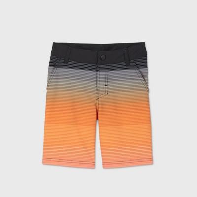 Boys' Gradient Hybrid Swim Shorts - art class™ Orange