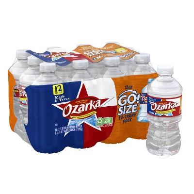 Ozarka Brand 100% Natural Spring Water - 12pk/12 fl oz Bottles