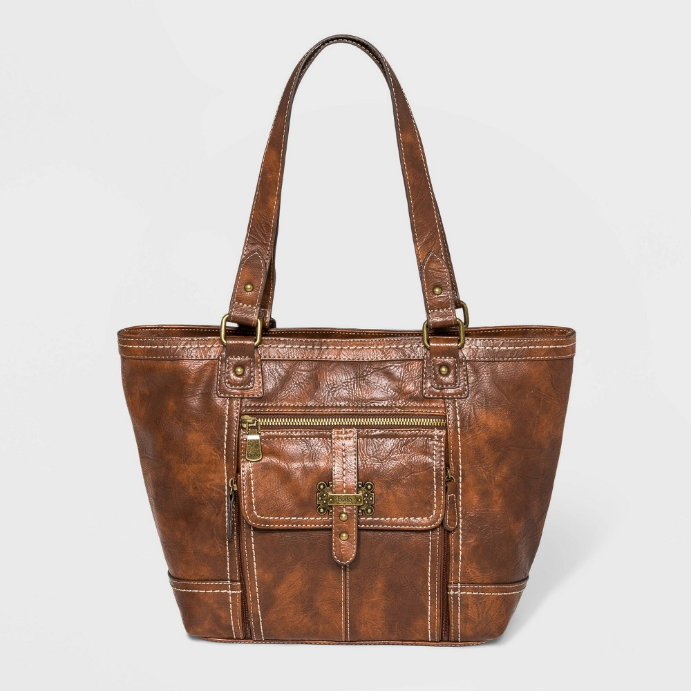 Image of Bolo Claridge Tote Handbag - Brown, Women's