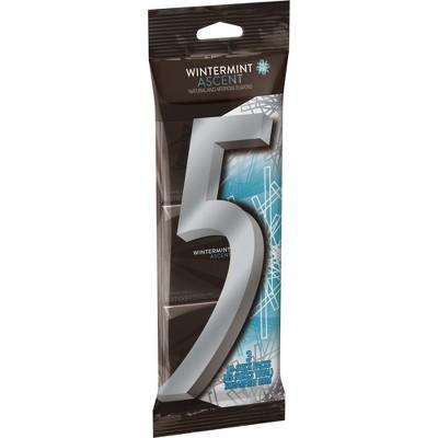 Wrigley's 5 Wintermint Ascent Sugarfree Gum Multipack - 45ct