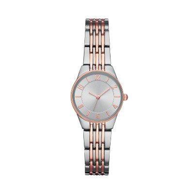 Women's Slim Bracelet Watch - A New Day™ Silver