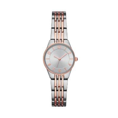 Women's Slim Bracelet Watch - A New Day™ Silver