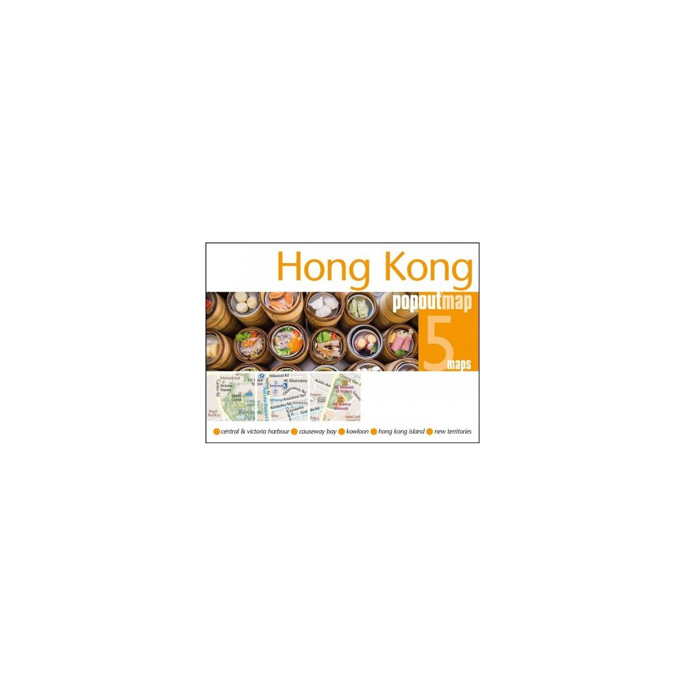 Popout Map Hong Kong - Map (Popout Maps) (Paperback)