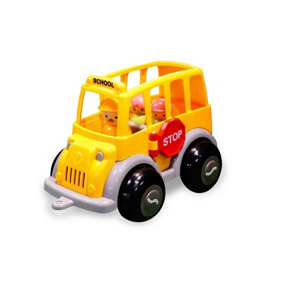 Viking Toys School Bus with Driver & Students