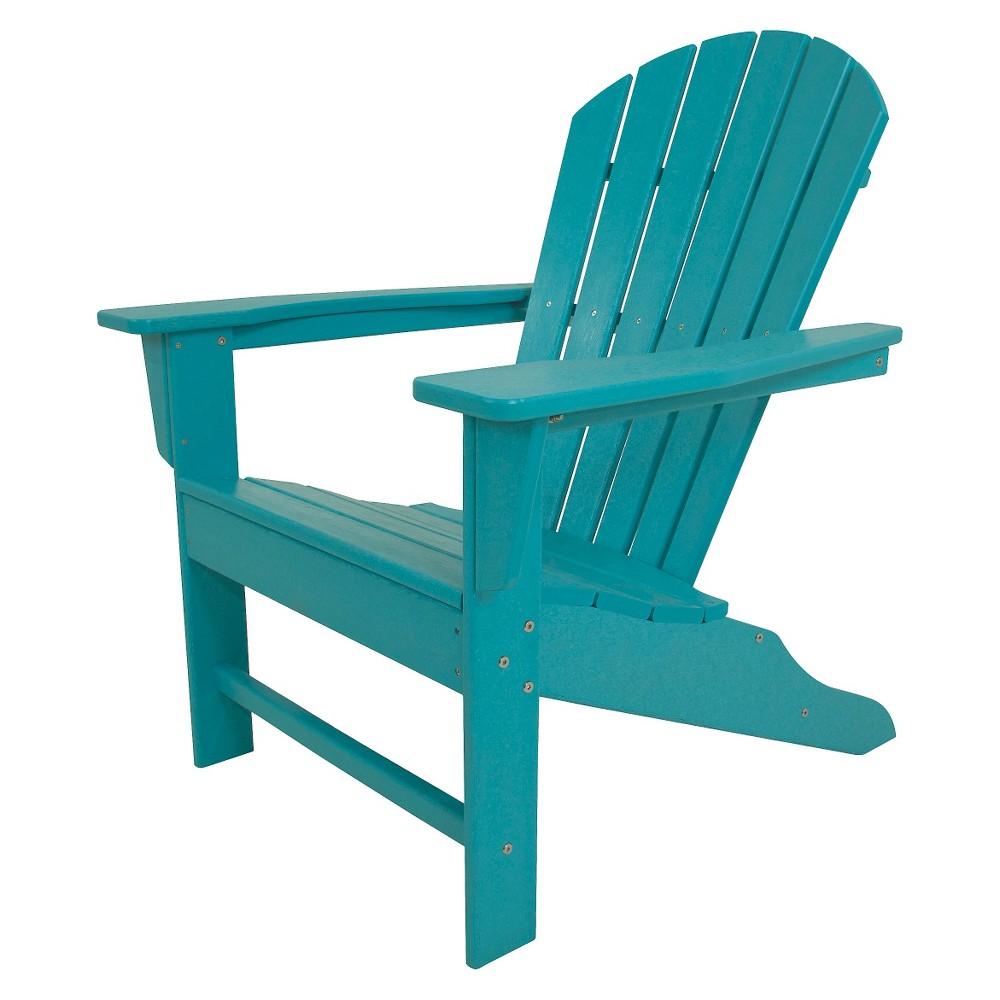 Polywood South Beach Patio Adirondack Chair - Aruba