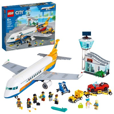 LEGO City Passenger Airplane Construction Toy for Kids 60262