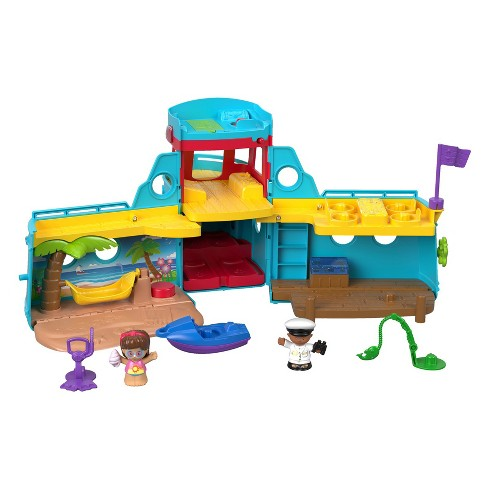 Fisher-Price Little People Travel Together Friend Ship - image 1 of 7