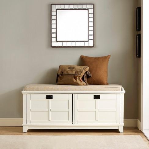 Awe Inspiring Adler Entryway Storage Bench Crosley Beatyapartments Chair Design Images Beatyapartmentscom