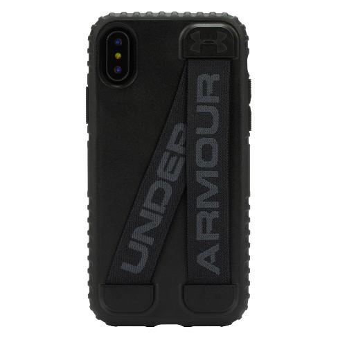 size 40 a7f0b 7c562 Under Armour iPhone X Case UA Handle-It - Black/Black