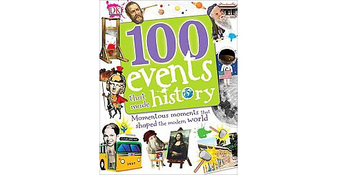 100 Events That Made History : Memorable Moments That Shaped the Modern World (Hardcover) (Clare - image 1 of 1