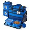 Overland Travelware Suitcase - Dog - Rolling Weekender - Royal Blue - image 4 of 4