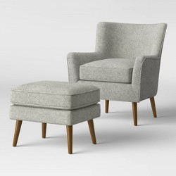 Englund Chair and Ottoman - Project 62™