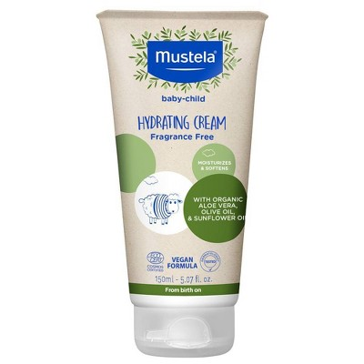 Mustela Organic Hydrating Cream with Olive Oil and Aloe - 5.07 fl oz