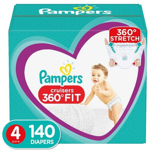 Pampers Cruisers 360 Disposable Diapers One Month Supply (Select Size) - image 1 of 4