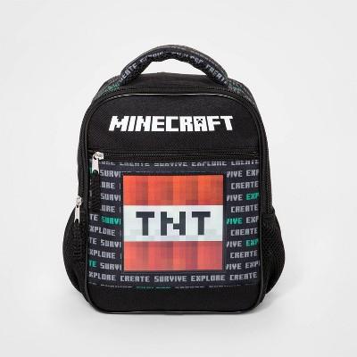 Boys' Minecraft Toy Endcap Lenticular Mini Backpack - Black