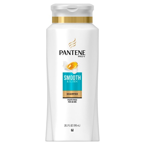 Pantene Pro-V Smooth & Sleek Tames Frizz Taming Shampoo - 20.1 fl oz - image 1 of 3