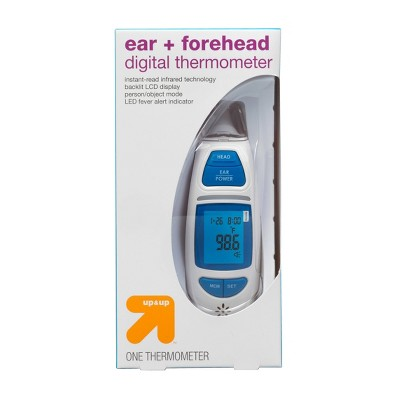 Ear & Forehead Digital Thermometer - up & up™