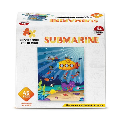 A+X Submarine Kids' Jigsaw Puzzle - 45pc - image 1 of 2
