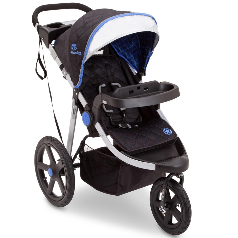 Jeep Adventure All-Terrain Jogger Stroller - Tracks