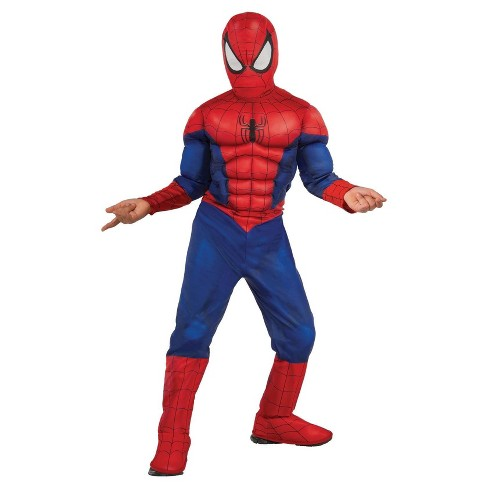 Spider Man Boys Muscle Chest Costume Target