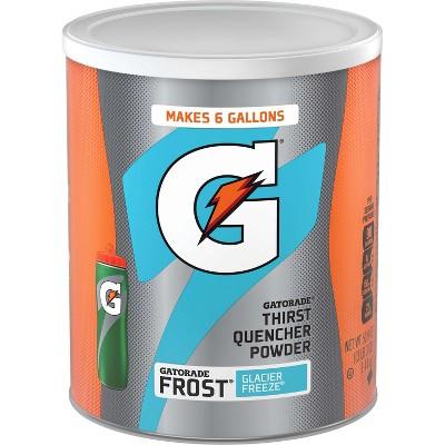 Gatorade Frost Glacier Freeze Sports Drink Mix - 50.9oz Canister