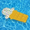 Swimline Ice Cream Dream Float Inflatable Swimming Pool Floating Lounger Raft - image 4 of 4