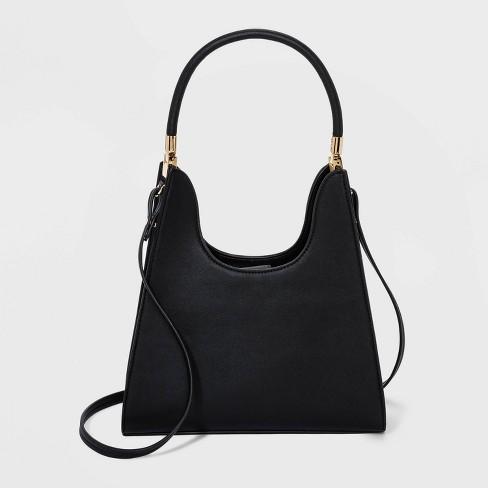 Trapezoid Mini Satchel Handbag - A New Day™ - image 1 of 3