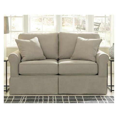 Senchal Loveseat Cream Signature Design By Ashley Target
