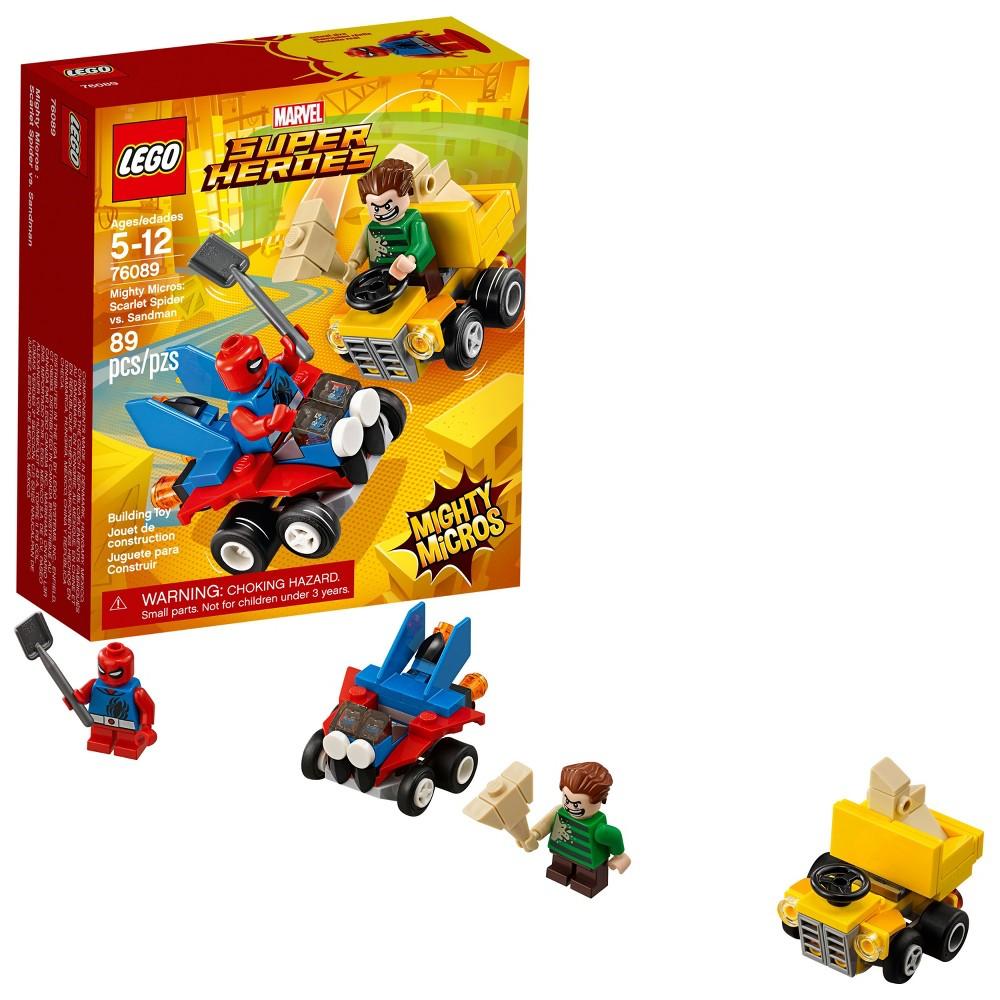 Lego Marvel Super Heroes Mighty Micros Star Lord Vs Nebula 76090 76064 Spider Man Green Goblin Scarlet Sandma 76089