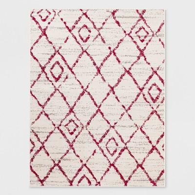 Outdoor Rug - 5'X7' - Diamond - Pink - Opalhouse™