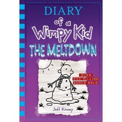 Wimpy Kid Meltdown - by Jeff Kinney (Hardcover)
