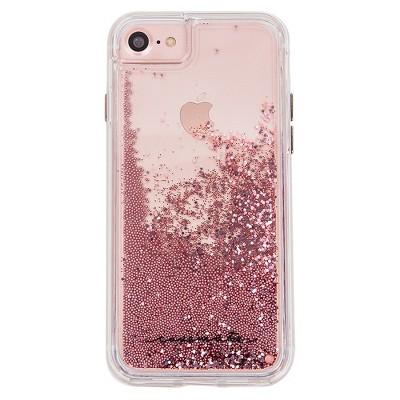 App phone case iphone 6s rose gold glitter